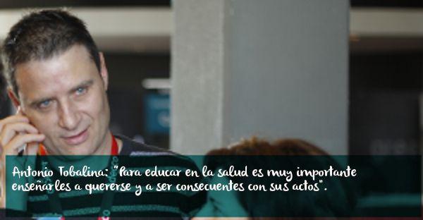 """Antonio Tobalina: """"Sugiero a padres y madres que enseñen a sus hijos que forman parte de un mundo en el que todos contamos"""""""