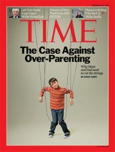 Portada de la revista Time sobre padres sobreprotectores