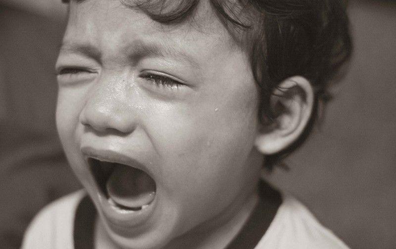 Nino llorando Gestionando Hijos