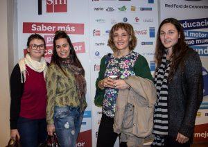 Heike Freire y el equipo de Sapos y Princesas