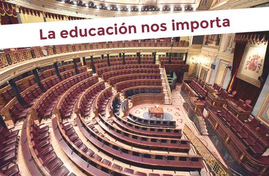 Educación en el congreso de los diputados