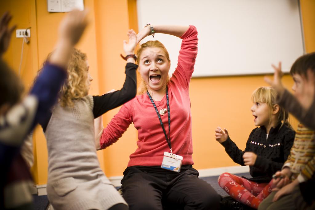 Clases de inglés divertidas para niños en British Council