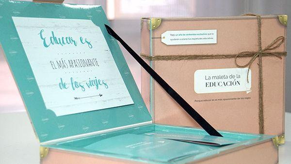 Regala La maleta de la educación a tu pareja en el Día de los Enamorados.