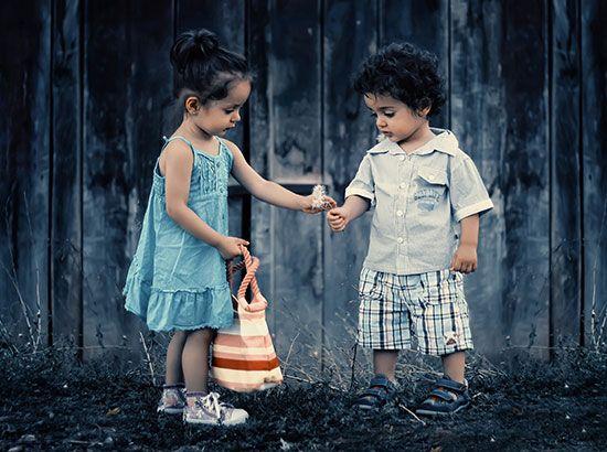 Enseñar a compartir, no obligar a compartir