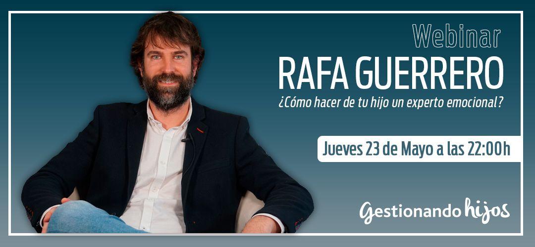 Webinar con Rafa Guerrero