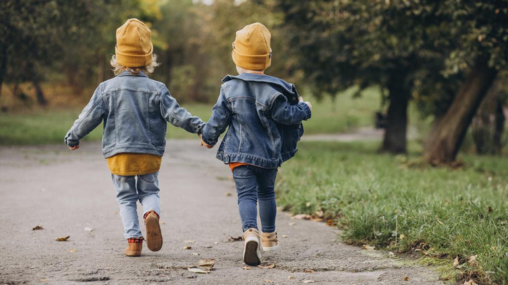 Niños corriendo. Articulo sobre orientacion sexual